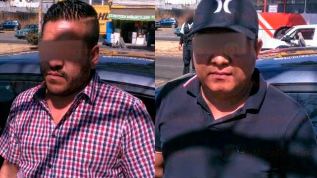 Arrestan a dos que viajaban en auto robado, en Morelia