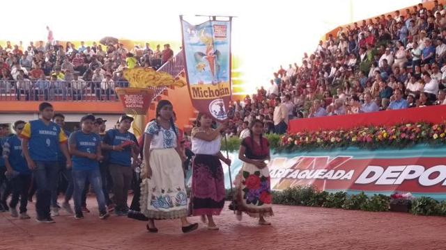 Michoacán, presente en la Espartaqueada Deportiva Nacional