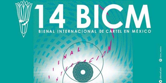 Exposición de la 14 Bienal Internacional de Cartel en México