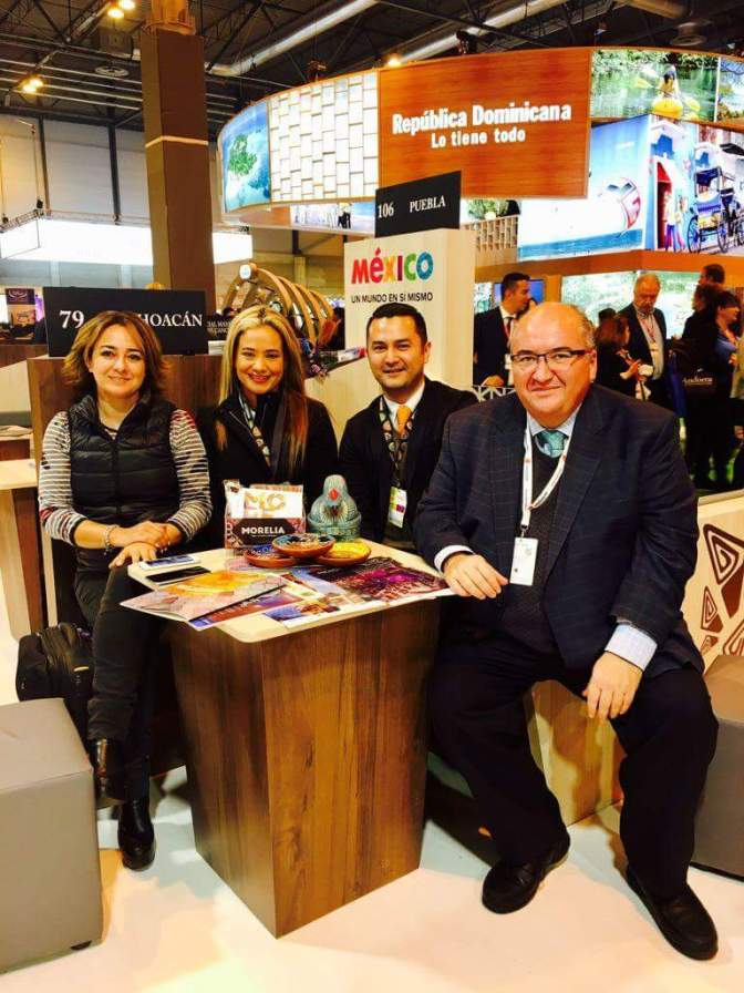 Morelia, reconocida por tour operadoras en Feria Internacional de Turismo
