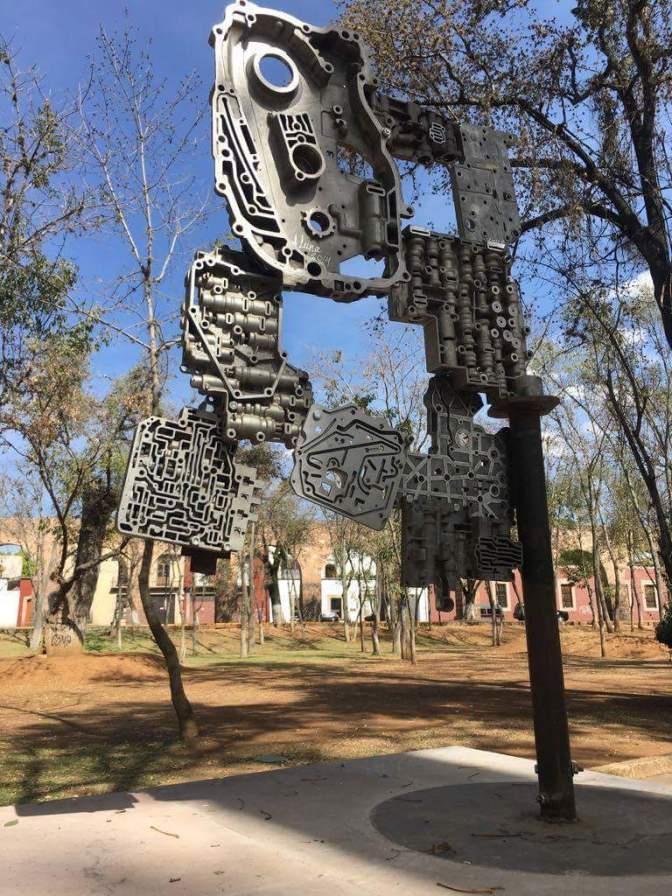 Lamenta SECUM daños a obras en Paseo Escultórico de las Artes
