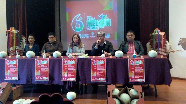 Alista Zicuirán su 6ta Expo Feria del Melón