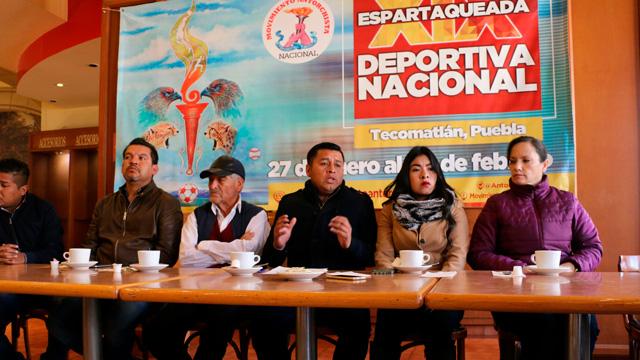 Más de mil deportistas michoacanos participarán en la 19 espartaqueada nacional