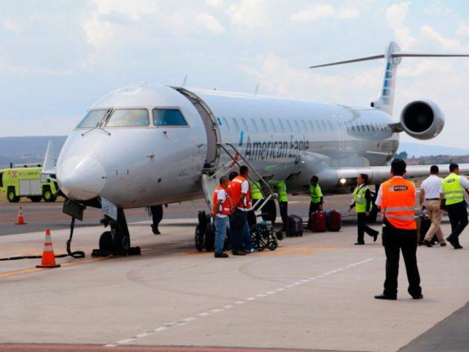 Turismo de Morelia por vía aérea repunta en 2018