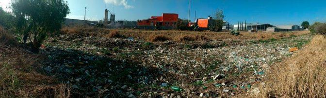 Recolectadas, 110 mil toneladas de basura durante lluvias en Morelia