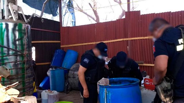 Desmantelan laboratorio de droga en Michoacán