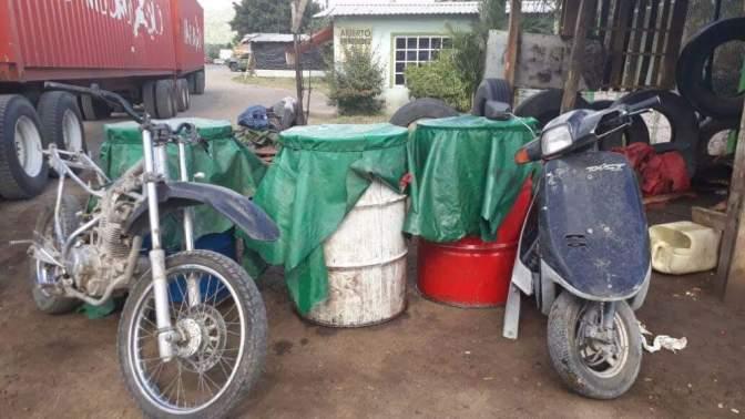 Poco más de 474 mil litros de gasolinas fueron asegurados durante 2017 en Michoacán