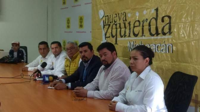 Victor Manuel Manríquez y Juan Carlos Barragán encabezarán candidaturas por Uruapan y Morelia: Nueva Izquierda PRD
