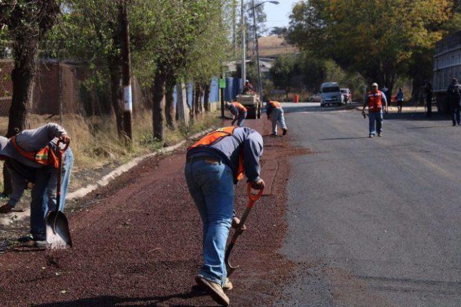 Las obras públicas son para todos los ciudadanos: Ayuntamiento de Morelia