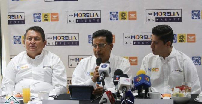 Vocero del Frente por Morelia señala a Alfonso Martínez de insensible, perverso y corrupto