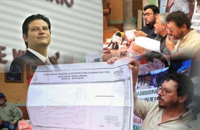 Alfonso Martínez mintió, si autorizó subdivisión de terrenos en la Loma de Santa María