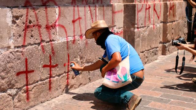 Gerencia del Patrimonio Cultural lamenta daños a monumentos por manifestaciones
