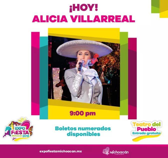 Hoy, conciertos, espectáculos y diversión en la Expo Fiesta Michoacán 2018
