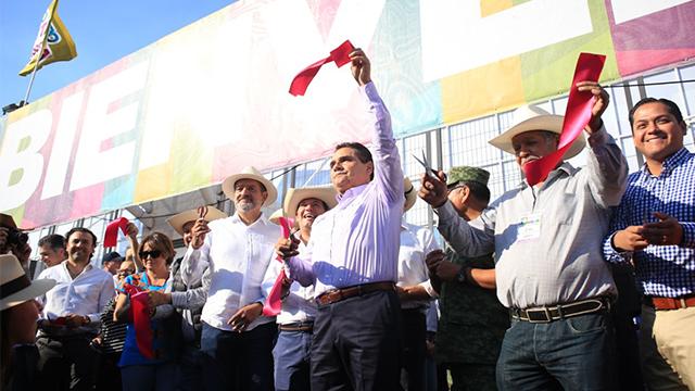 Inaugura Silvano la Expo Fiesta Michoacán 2018