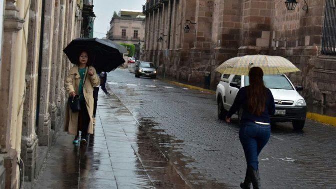 Continuarán las lluvias en gran parte de México este inicio de semana