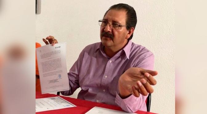 Detención de regidor de Tarímbaro es un acto fabricado por el Gobierno de Michoacán: Reginaldo Sandoval