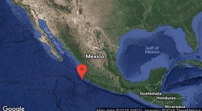 Se registra sismo de 6 grados en Jalisco esta noche
