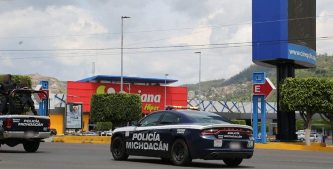 Robo de un durazno desató operativo policial en Morelia