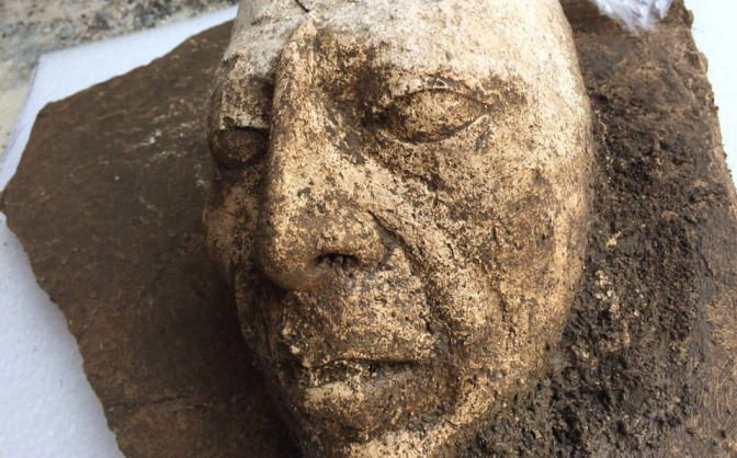 Encuentran rostro del rey Pakal y túnel en Chiapas