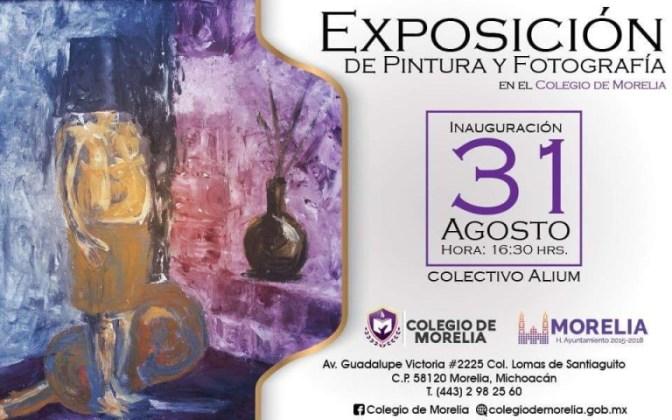 Colegio de Morelia presentará exposición 'Blanco y Negro' este 31 de agosto
