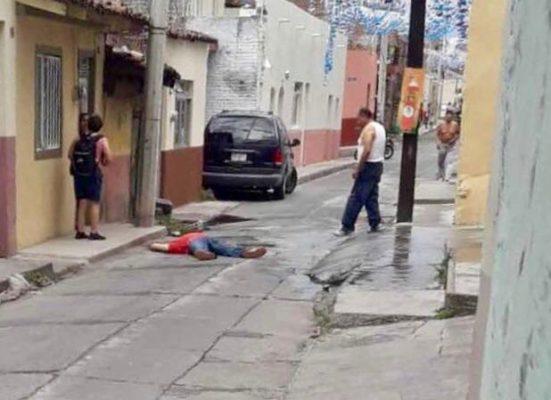 Asesinan en Sahuayo a propietario de un gimnasio