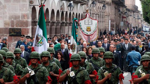 Develan más de 140 actividades en Morelia para mes patrio