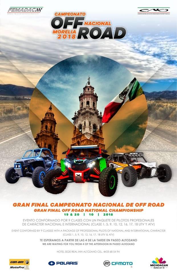 Campeonato OFF ROAD Nacional Morelia 2018