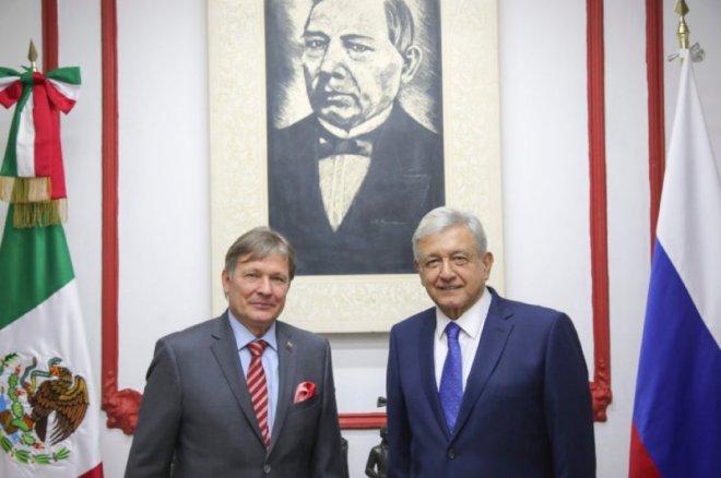 Rusia responde a cancelación de NAICM prometiendo invertir fuertemente en México