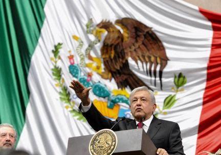 En Directo La toma de poder de Lopez Obrador como Presidente de México.