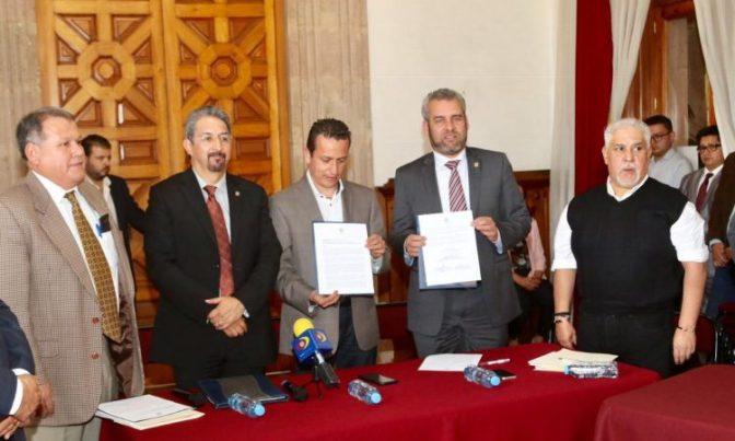 Nicolaitas respaldan reforma constitucional que daría presupuesto pleno a la UMSNH