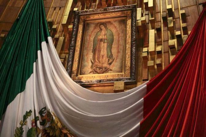 La milagrosa imagen de la Virgen de Guadalupe