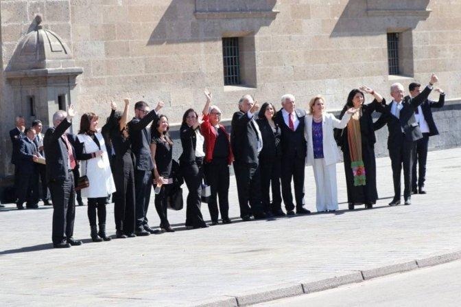 Los invitados a la comida de AMLO en Palacio Nacional