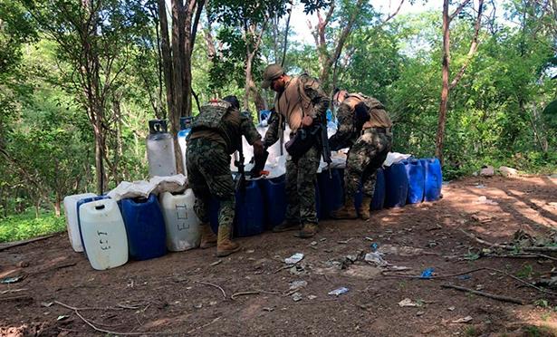 Laboratorio clandestino - Conexión Michoacán