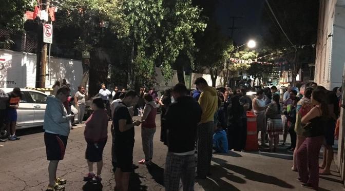 Sismo de magnitud 2.9 sacude a la CdMx