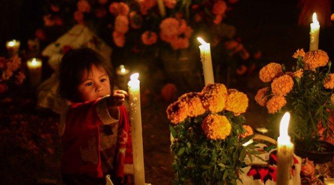 La día de muertos en Michoacán