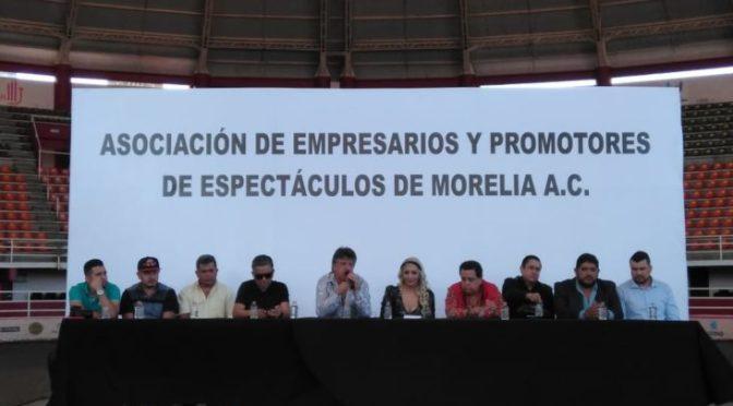 Acuerdan empresarios de espectáculos no empalmar eventos en Morelia