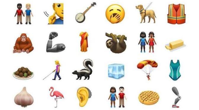 Los nuevos 239 emojis de WhatsApp, listos para usarse