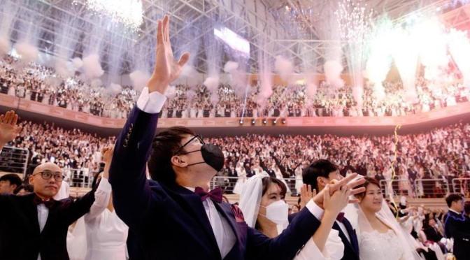 Ni el coronavirus impidió a 6 mil parejas casarse en Corea del Sur